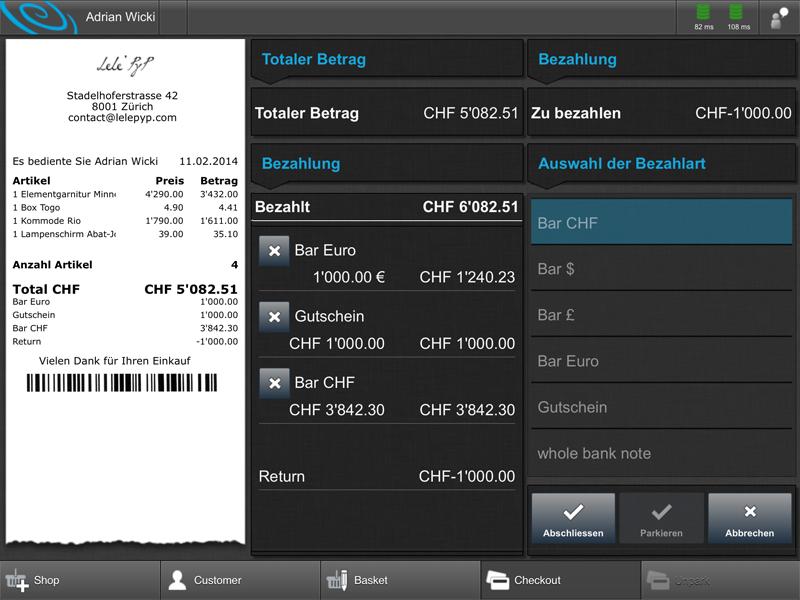 mobile Kasse Kartenzahlung