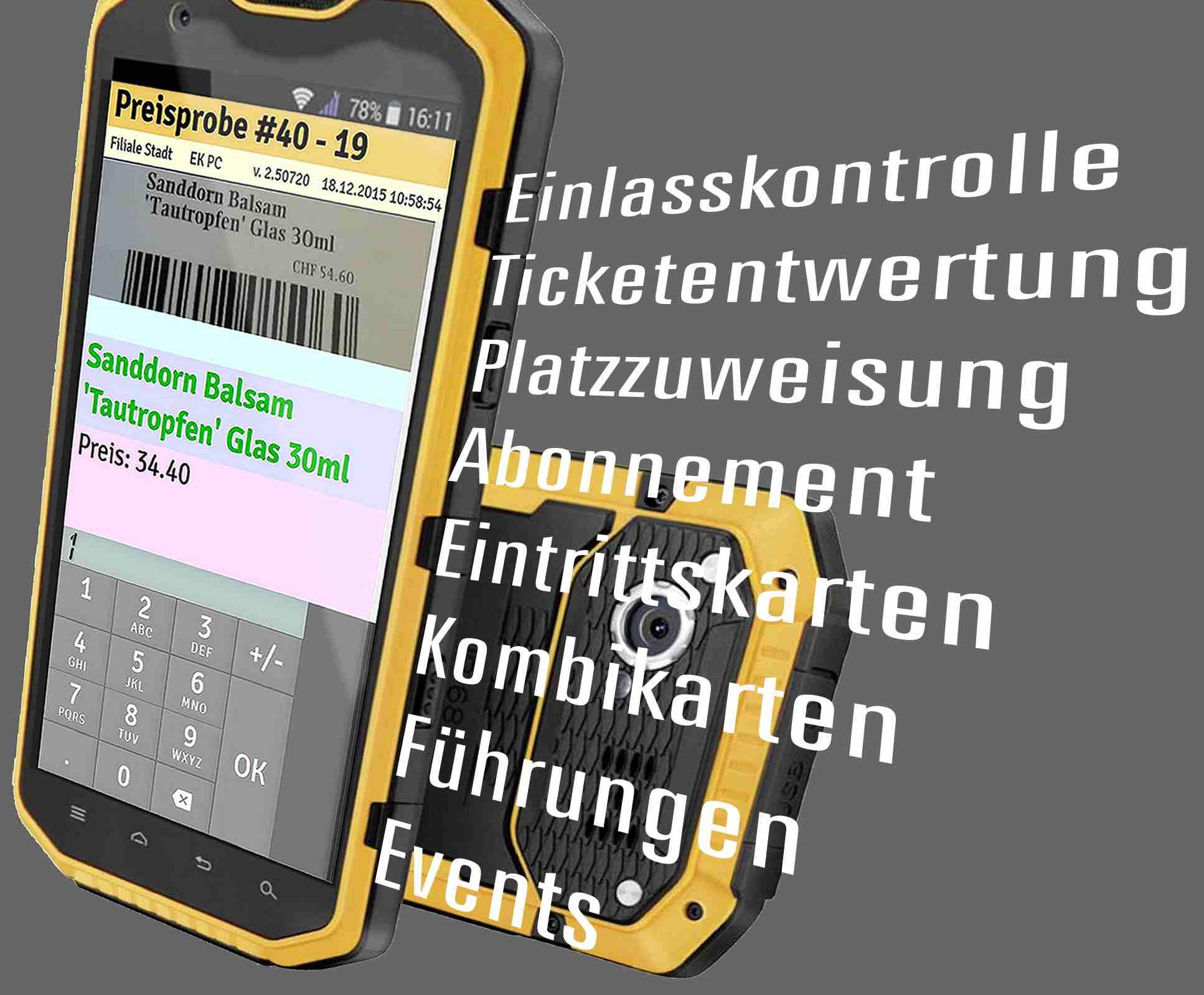 App für Zutrittskontrolle