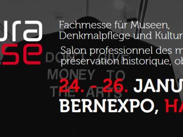 Cultura Suisse Messe in Bern: 24.-26. Januar 2019